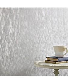 Graham Brown Silken Stria Silver Mist Wallpaper
