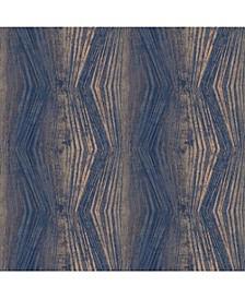 Graham Brown Vermeil Stripe Charcoal Wallpaper