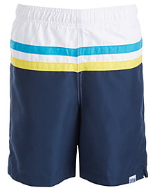 Laguna Big Boys Colorblocked Swim Shorts