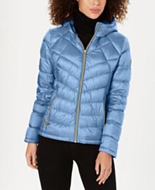 MICHAEL Michael Kors Petite Packable Down Puffer Coat, Created for Macy's