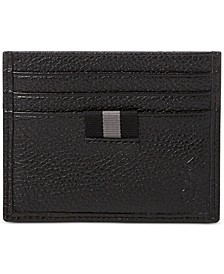 Men's Pebbled Leather Card Case