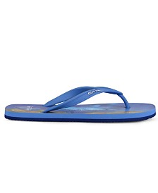 Guy Harvey Men's Cayman Surface Shark Flip-Flop Sandal