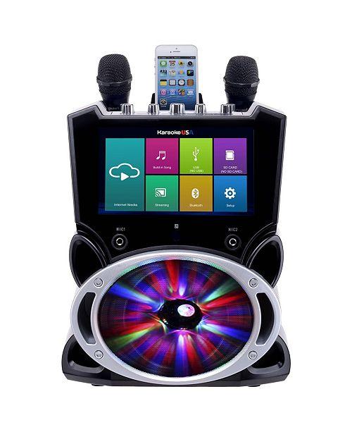 Karaoke USA WK849 Complete Wi-Fi Bluetooth Machine