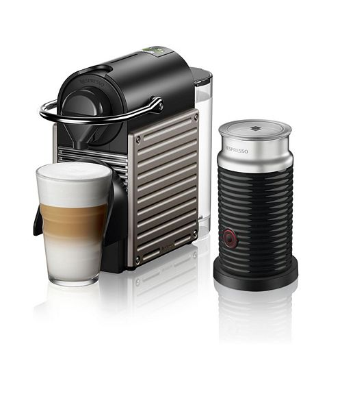 Nespresso by Breville Pixie Titan Espresso Machine with Aeroccino3