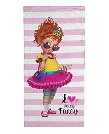 Disney Fancy Nancy Love Being Fancy Beach Towel