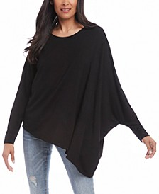 Asymmetrical Dolman-Sleeve Top