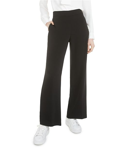 Bar III Pull On Wide Leg Pant, Created For Macy's