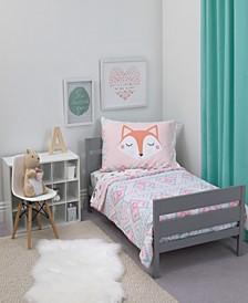 Woodland 4-Piece Toddler Bedding Set