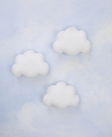 Plush Cloud Wall Decor 3-Pack