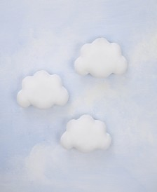 Nojo Plush Cloud Wall Decor 3-Pack