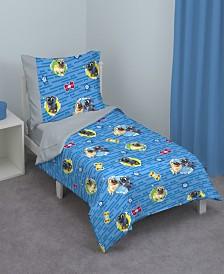 Disney Puppy Dog Pals 4-Piece Toddler Bedding Set
