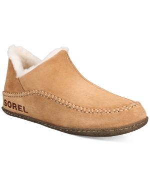 Sorel Men's Manawan Ii Loafers Men's Shoes In Elk, Natural