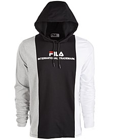Men's Colorblocked Logo Hoodie