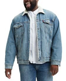 Levi's® Men's Big & Tall Fleece Lined Trucker Jacket