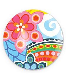 """11""""  Tropic Fantasia Dinner Plate, Set of 4"""