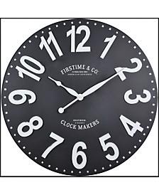 "Firstime & Co 27"" Sullivan Wall Clock"