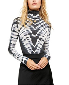 Free People Psychedelic Turtleneck