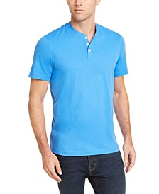 Men's Solid Henley, Created for Macy's