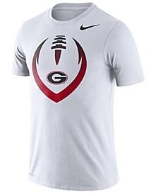 Men's Georgia Bulldogs Dri-Fit Cotton Icon T-Shirt