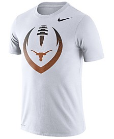 Nike Men's Texas Longhorns Dri-Fit Cotton Icon T-Shirt