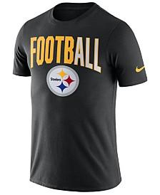 Nike Men's Pittsburgh Steelers Dri-Fit Cotton Football All T-Shirt