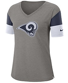 Nike Women's Los Angeles Rams Tri-Fan T-Shirt
