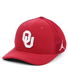 Oklahoma Sooners Aerobill Swooshflex Stretch Fitted Cap