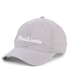 Top of the World Women's West Virginia Mountaineers Ante Script Strapback Cap