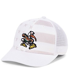 Top of the World Miami Hurricanes Sub Flag Trucker Cap