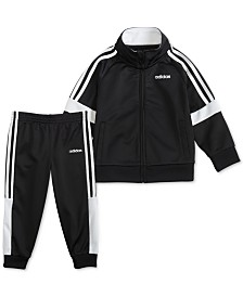 adidas Toddler Boys 2-Pc. Jacket & Pants Set