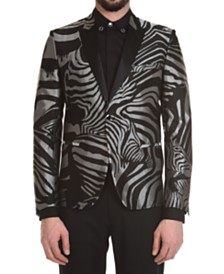Just Cavalli Men's Animal Print Jacket