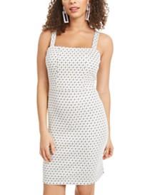 Rosie Harlow Juniors' Jacquard Bodycon Dress