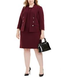 Le Suit Plus Size Jacket & Dress