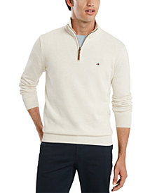 Tommy Hilfiger Men's Quarter-Zip Sweater