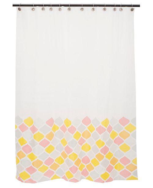 Kenney Medium Weight Mildew-Resistant Decorative Shower Curtain Liner