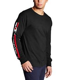 Champion Men's Logo Long-Sleeve T-Shirt