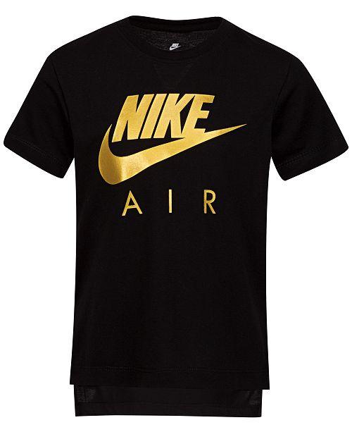 Nike Little Girls Air Logo T-Shirt