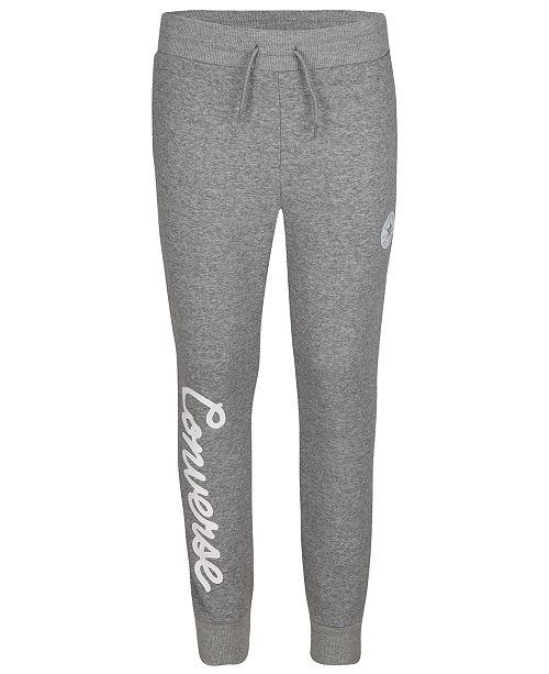 Converse Big Girls Logo Jogger Pants