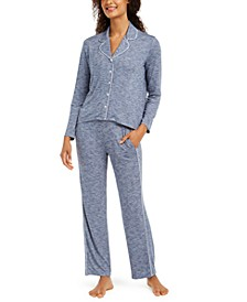 Women's Cozy Knit Pajama Set, Created for Macy's