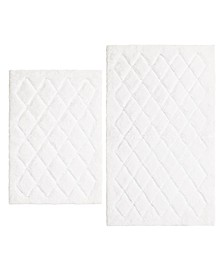 Marquis Diamond Bath Rug Set