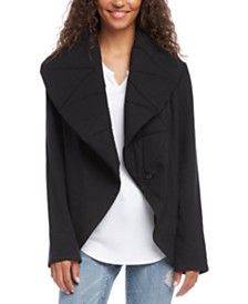 Karen Kane Quilted Snap-Front Jacket
