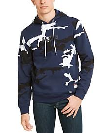 Men's Camouflage Logo Fleece Hoodie