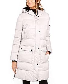 Oversized Hooded Puffer Coat