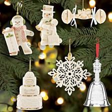 Lenox 2019 Annual Ornaments