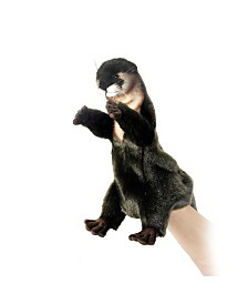 Hansa Otter Hand Puppet Plush Toy