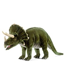 "20"" Triceratops Dinosaur Plush Toy"