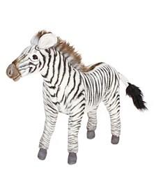 """Grevy'S 14"""" Zebra Plush Toy"""