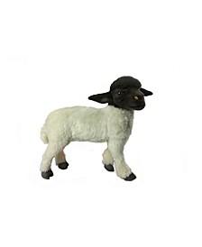 Sheep Suffolk Standing Plush Toy