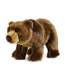 Lelly National Geographic Grizzly Bear Plush Toy