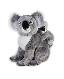 Lelly National Geographic Koala With Baby Plush Toy